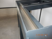 Dakgoot aluminiumgoot (Antraciet)