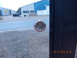 3 Glaswanden 98 cm breed 200 cm hoog totaal 290 cm breed_