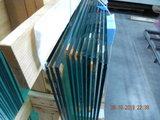 4 Glaswanden 82 cm breed 215 cm hoog totaal 322 cm breed_