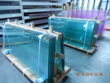 5 Glaswanden 82 cm breed 225 cm hoog totaal 402 cm breed_