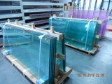 5 Glaswanden 82 cm breed 240 cm hoog totaal 402 cm breed_