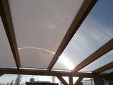 Bovenbouw dak polycarbonaat (2m breed en 1,5m diep) - Opaal_