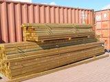 Bovenbouw plus Onderbouw 9 bij 9 dak polycarbonaat (6m breed en 3m diep) - Opaal_