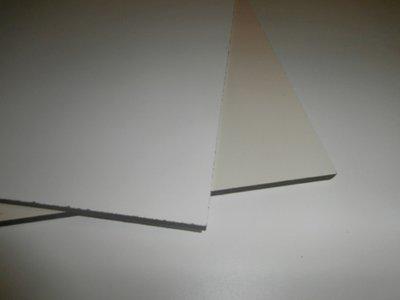 Trespa 6 mm. 1,30/3,05 cm. Wit (Ral.9010)